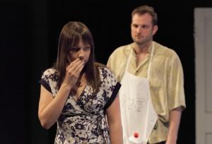 BareBones OFW Ina Strauss (Beth) and  Joseph Wiens (Brad)