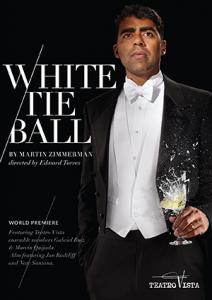 white tie poster