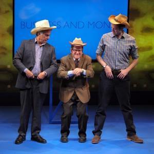 Gene Weygandt, Tim Kazurinsky, Alex Goodrich -credit Dan Rest