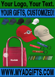 My Ad Gifts, customized gifts, pens, apparel, hats, shirts, chicago, american made