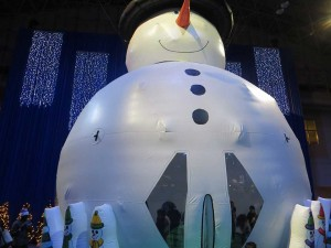 SnowmanBouncerLarge