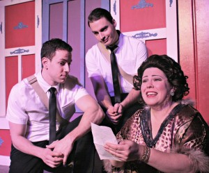 3. (L to R) Dan Gold,  Sam Button-Harrison, and Libby Lane in The Book of Merman by Leo Schwartz at PFP (2)