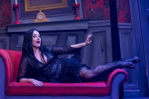 The Addams Family, Mercury Theater Chicago, Morticia (Rebecca Prescott)