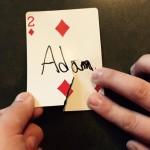 adam's card