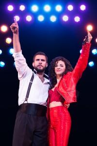 1-2716_Josh Segarra and Ana Villafa+¦e as Emilio and Gloria Estefan in ON YOUR FEET! (c) Matthew Murphy