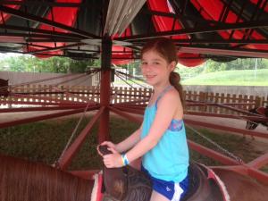 sarah on horse