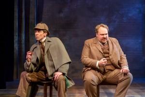 TheManWhoMurderedSherlockHolmes, 3 - Nick Sandys (Holmes), Michael Aaron Lindner (Doyle)